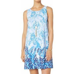 NWT Lilly Pulitzer Kristen Dress Blue Peri Turtley